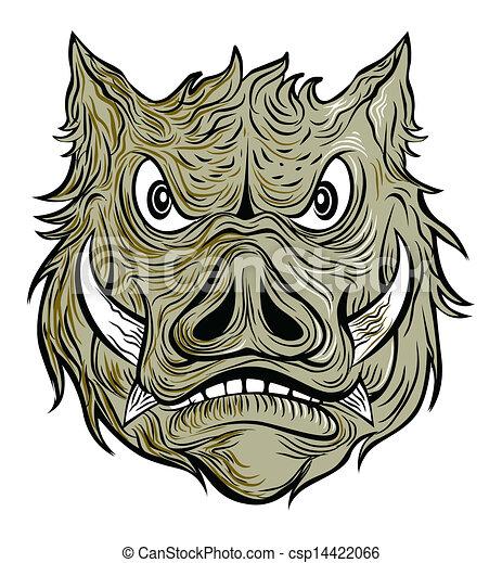 wild boar - csp14422066