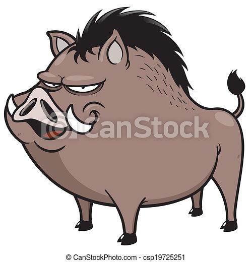 Wild boar - csp19725251