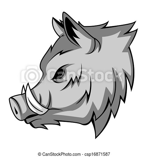 wild boar vector search clip art illustration drawings and eps rh canstockphoto com Wild Boar Graphics Wild Boar Silhouette