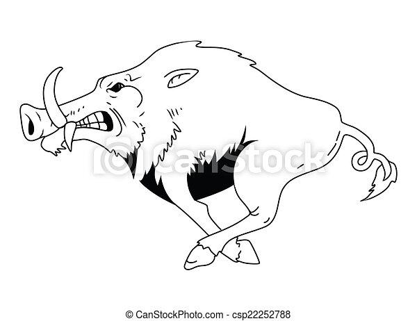 Wild Boar - csp22252788