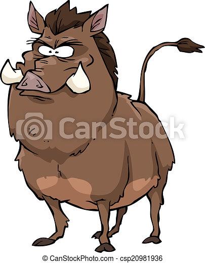 Wild boar - csp20981936