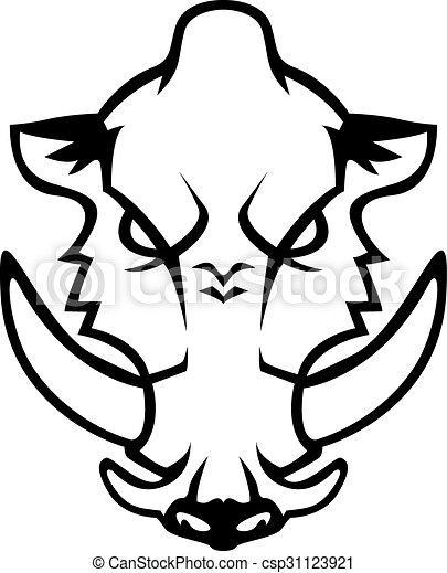 wild boar vector illustration search clipart drawings and eps rh canstockphoto com Boar Clip Art wild boar hunting clipart