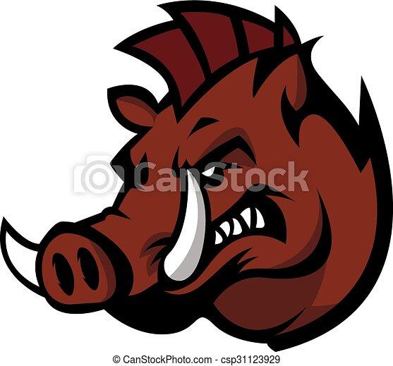 Wild boar - csp31123929