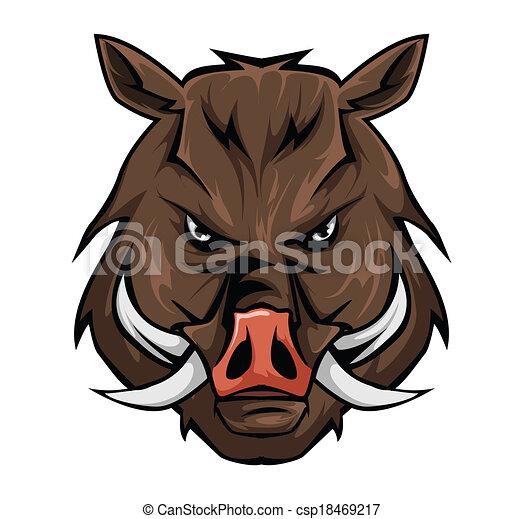 Wild boar - csp18469217