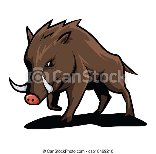 wild boar vector clip art search illustration drawings and eps rh canstockphoto com Wild Boar Attacks Wild Boar Graphics