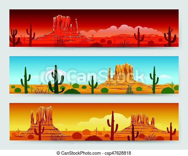 wild nature desert mexican landscape banners wild nature tranquil rh canstockphoto com Easter Sunrise Clip Art Sunset Clip Art