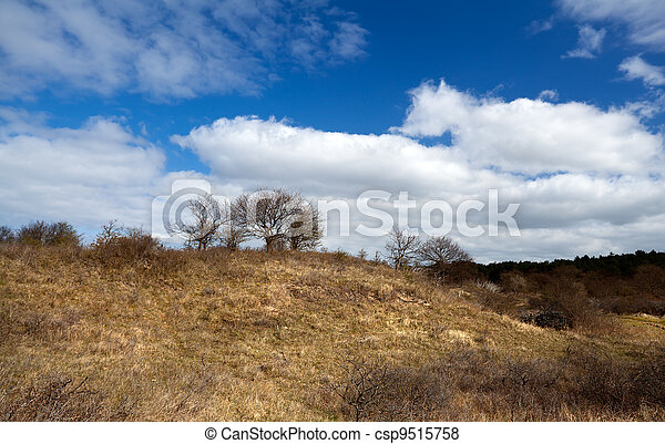 wild uncultivated hill - csp9515758