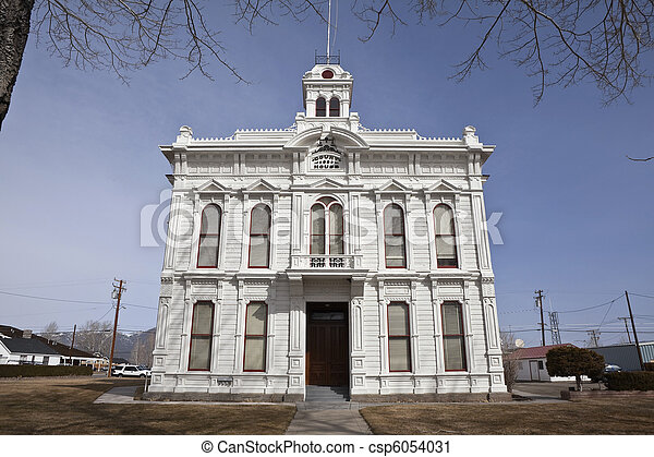 Wild West Courthouse - csp6054031