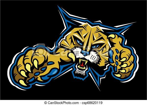 La mascota del gato salvaje - csp68620119