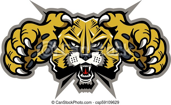 La mascota del gato salvaje - csp59109629