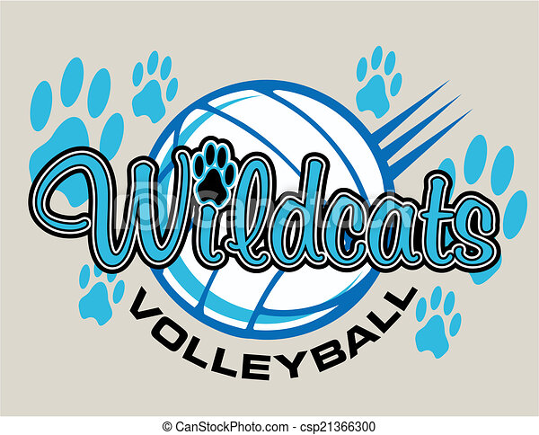 wildcats, conception, volley-ball - csp21366300