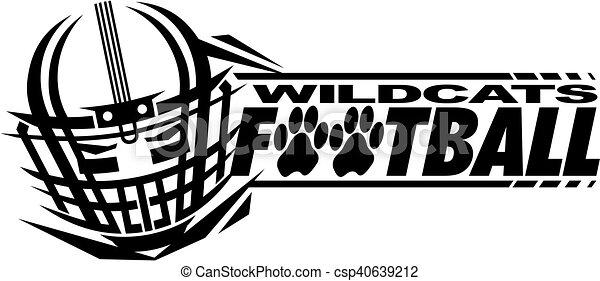 Fútbol de Wildcats - csp40639212