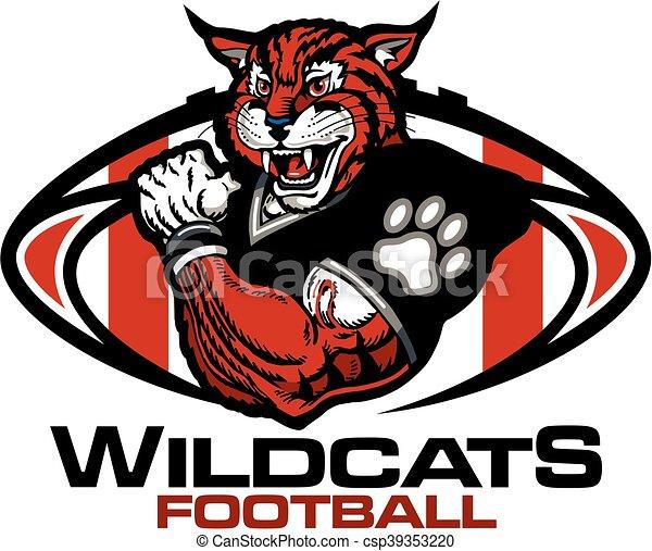 Fútbol de Wildcats - csp39353220