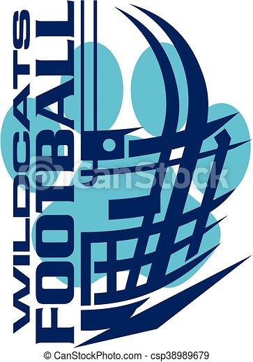 Fútbol de Wildcats - csp38989679