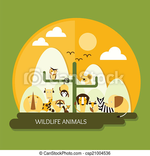 wildlife animals protection and conservation - csp21004536