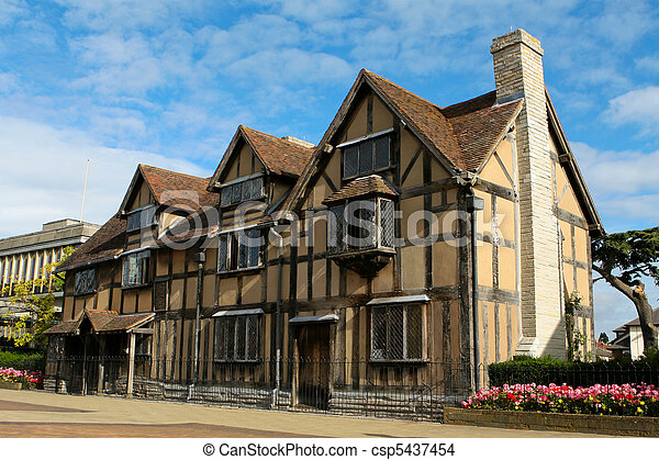 William Shakespeare's Birthplace - csp5437454