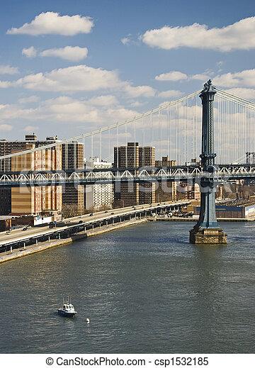 Williamsburg Bridge - csp1532185