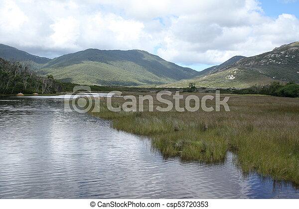Landscape, Wilsons promontorio - csp53720353