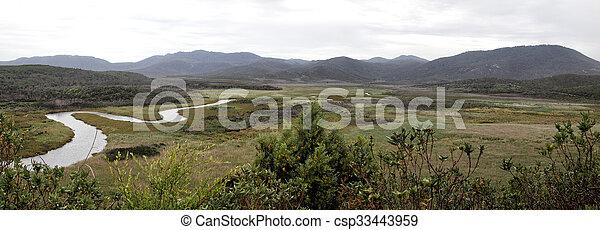 El panorama promontorio de Wilson - csp33443959