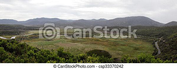 Wilsons Promontory Panorama - csp33370242