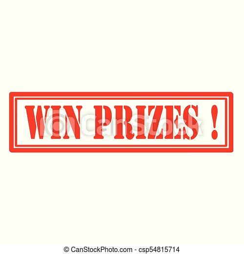 WIN PRIZES! stock illustration. Illustration of match - 86666506