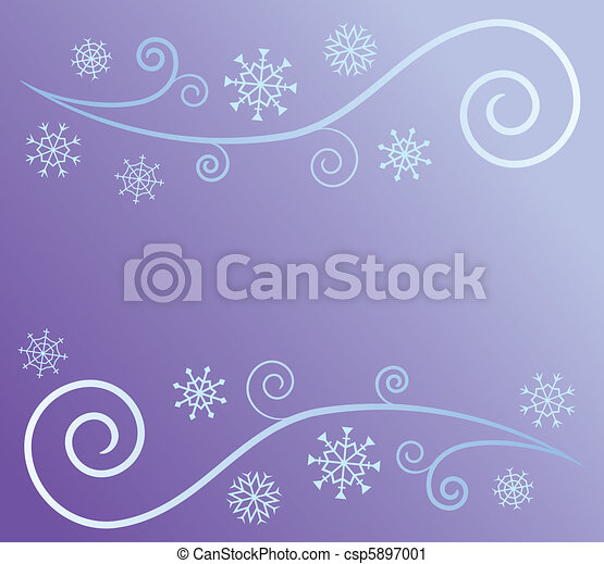 Wind and Snow - csp5897001