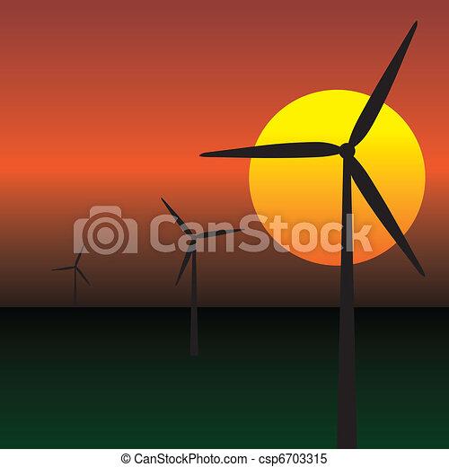 wind energy turbines - csp6703315