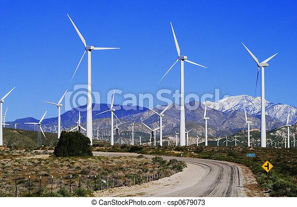 Wind Farm - csp0679073