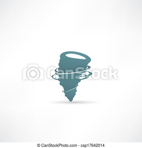 wind icon vector - csp17642014