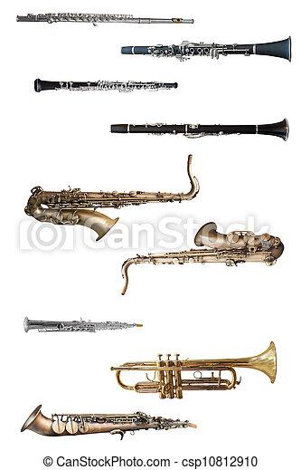 wind instruments - csp10812910