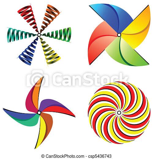 wind mills collection - csp5436743
