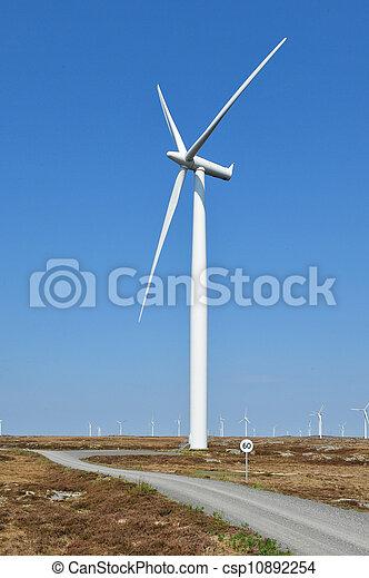 wind power generation - csp10892254