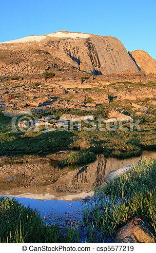 wind river peak reflection - csp5577219