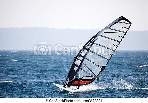 Wind Surfing - csp3673321