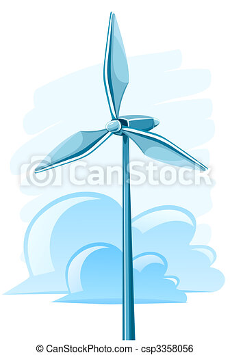 wind turbine for electricity energy generation - csp3358056