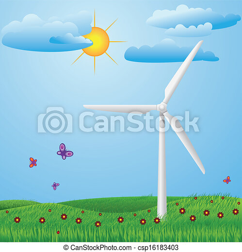 Wind turbine - csp16183403