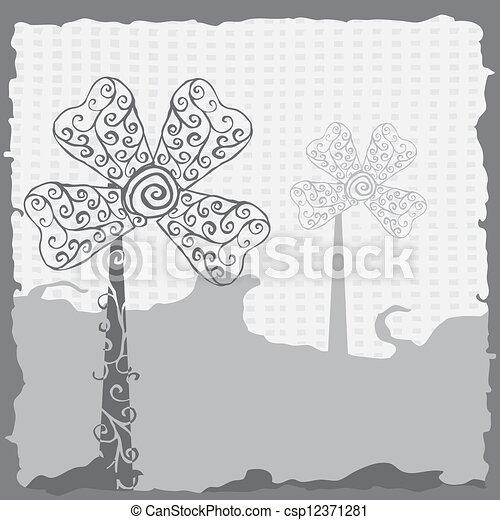 Wind turbines-free energy  - csp12371281