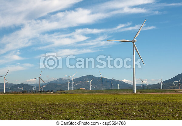 Wind turbines - csp5524708