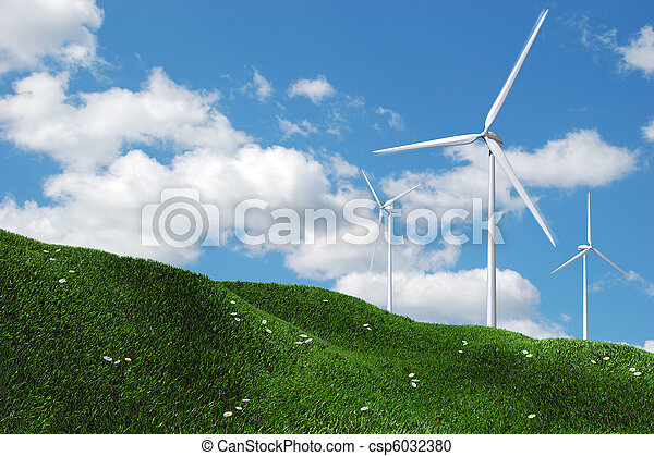 Wind turbines - csp6032380
