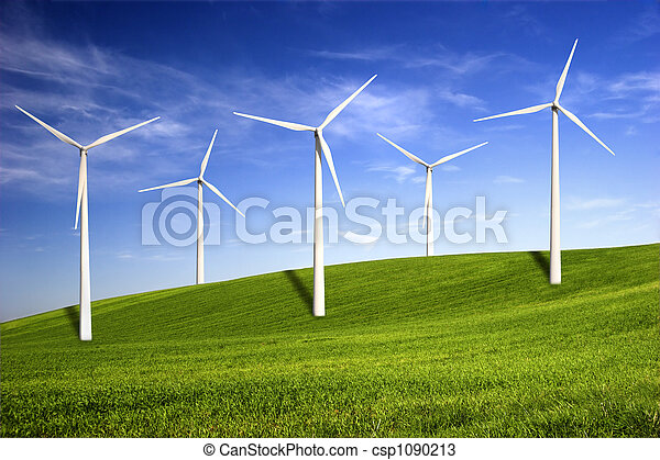 Wind turbines - csp1090213