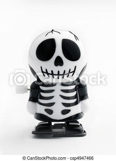 Wind up skeleton - csp4947466