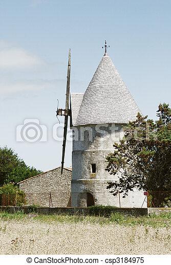 windmühle, altes  - csp3184975