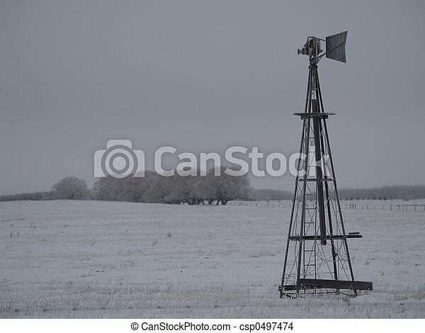 windmühle, altes  - csp0497474