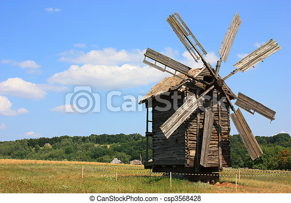 windmühle - csp3568428