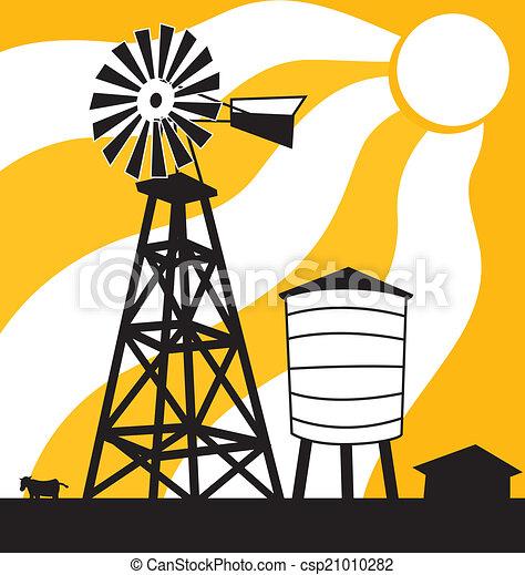 Windmill - csp21010282