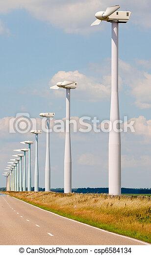 Windmill park - csp6584134