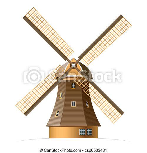 Windmill - csp6503431