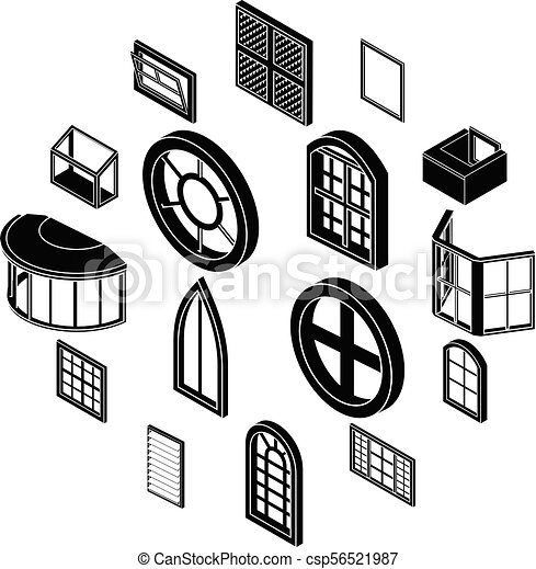 Window Forms Icons Set Simple Style Window Forms Icons Set Simple