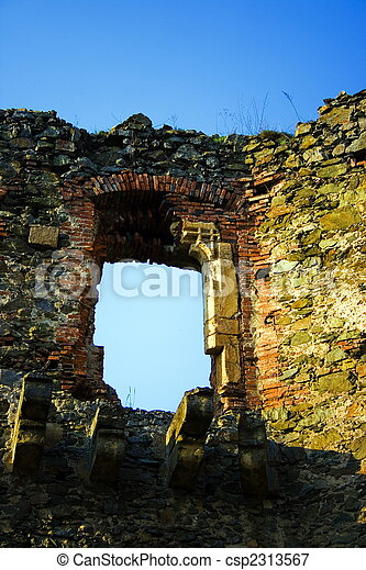 Window From History 2 Late Gothic Framing Of The North Palace From