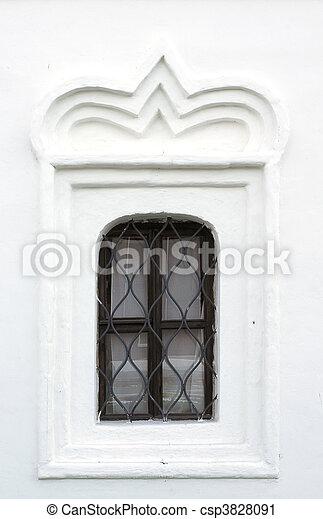 Window of a church - csp3828091